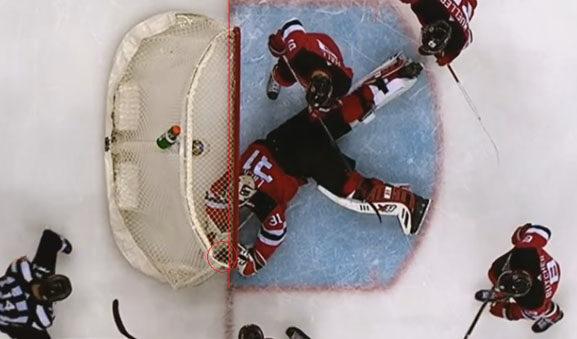 Tim Schaller's goal for Bruins vs NJ Devils
