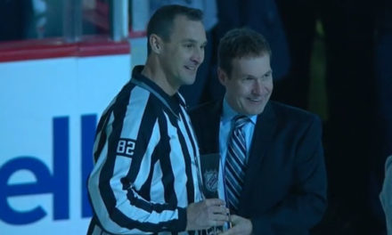 Linesman Ryan Galloway Reaches 1000 Game Milestone