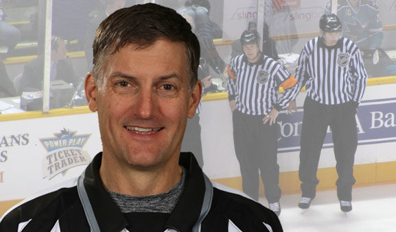 Linesman Shane Heyer Honored for 2000 NHL Games