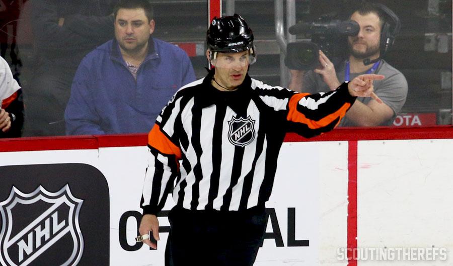 NHLPA Survey Names Wes McCauley League's Best Ref