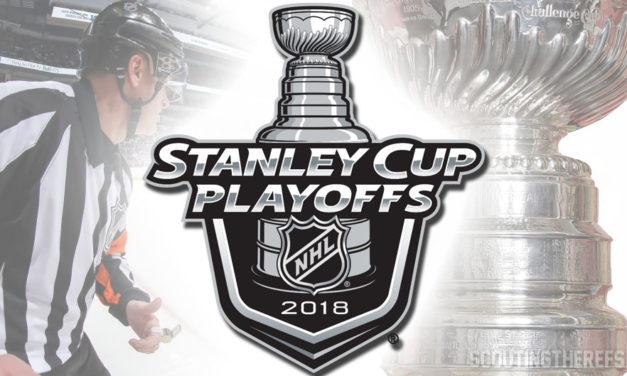 NHL Referees and Linesmen for 2018 Stanley Cup Conference Finals
