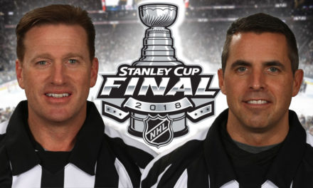 Tonight's NHL Stanley Cup Final Game 4 Referees and Linesmen – 6/4/18