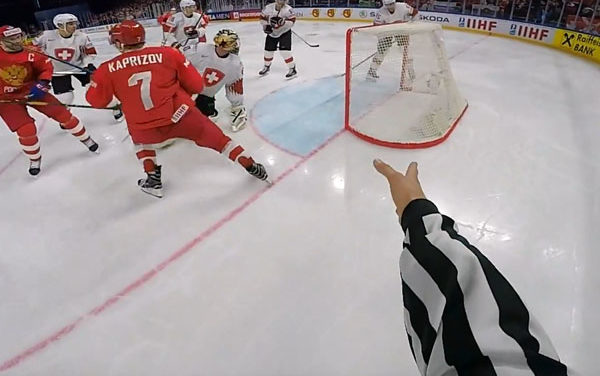 Ref Cams Take Over 2018 IIHF World Championship