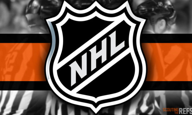 Tonight's NHL Referees and Linesmen – 12/17/2019