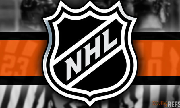 Tonight's NHL Referees and Linesmen – 12/22/2019