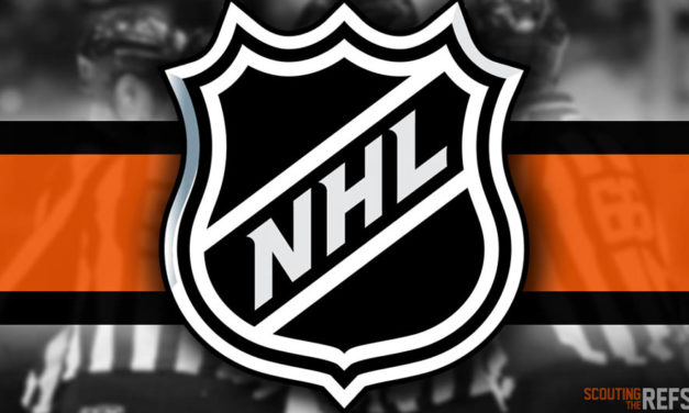 Tonight's NHL Referees and Linesmen – 10/8/18