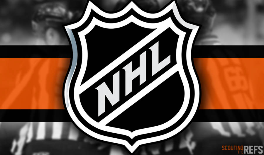 Tonight's NHL Referees and Linesmen – 10/22/18