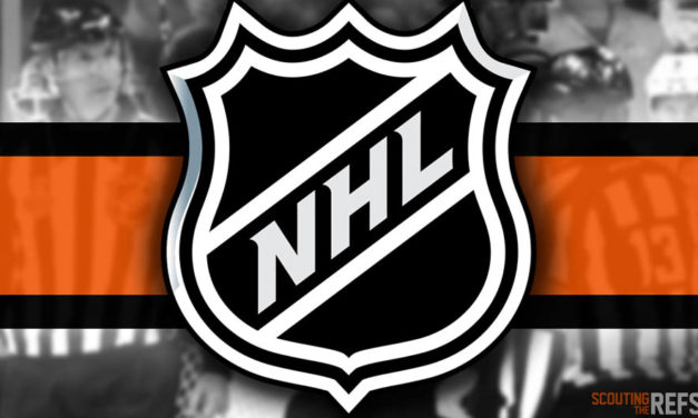 Tonight's NHL Referees and Linesmen – 11/29/18