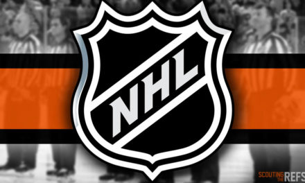 Tonight's NHL Referees and Linesmen – 12/29/2019