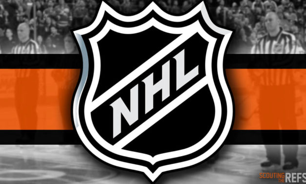 Tonight's NHL Referees and Linesmen – 10/26/18