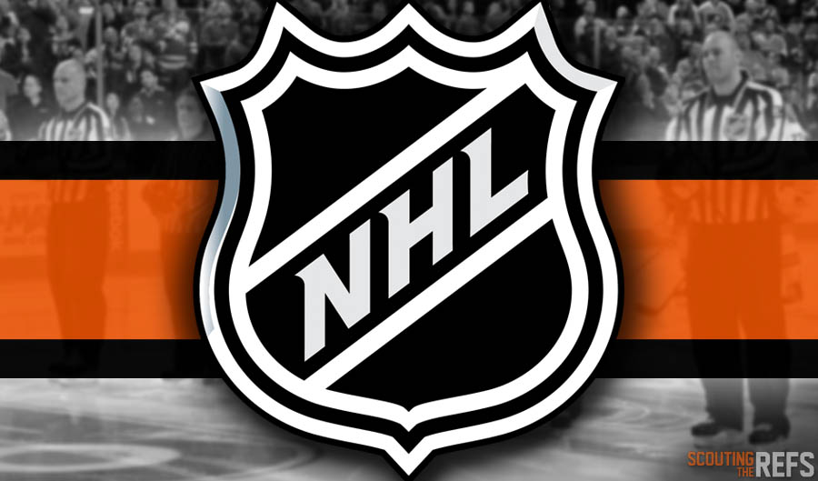 Tonight's NHL Referees and Linesmen – 12/30/2019