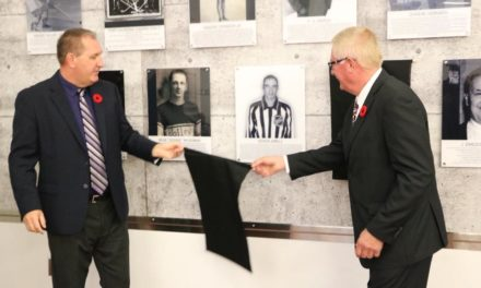 Linesman Derek Amell Inducted into Port Colborne Wall of Fame