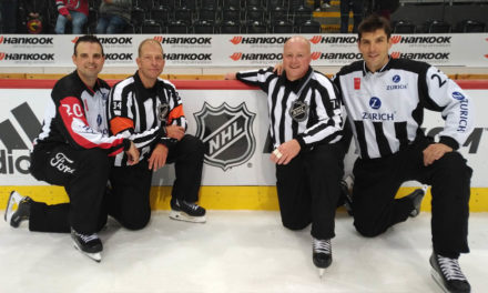 NHL's Meier, Cameron Work Global Challenge in Switzerland