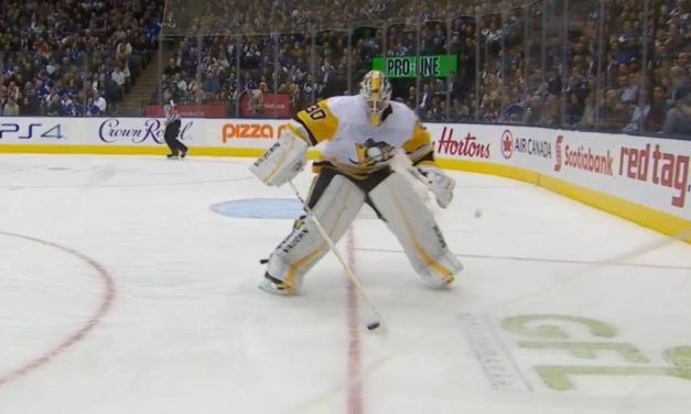 Trapezoid Trouble: Pens' Murray Penalized for Playing Puck
