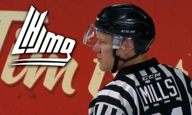 QMJHL Referee Brad Mills Day-to-Day with Knee Injury