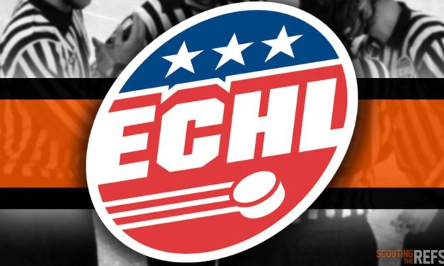 Tonight's ECHL Referees and Linesmen – 3/20/19