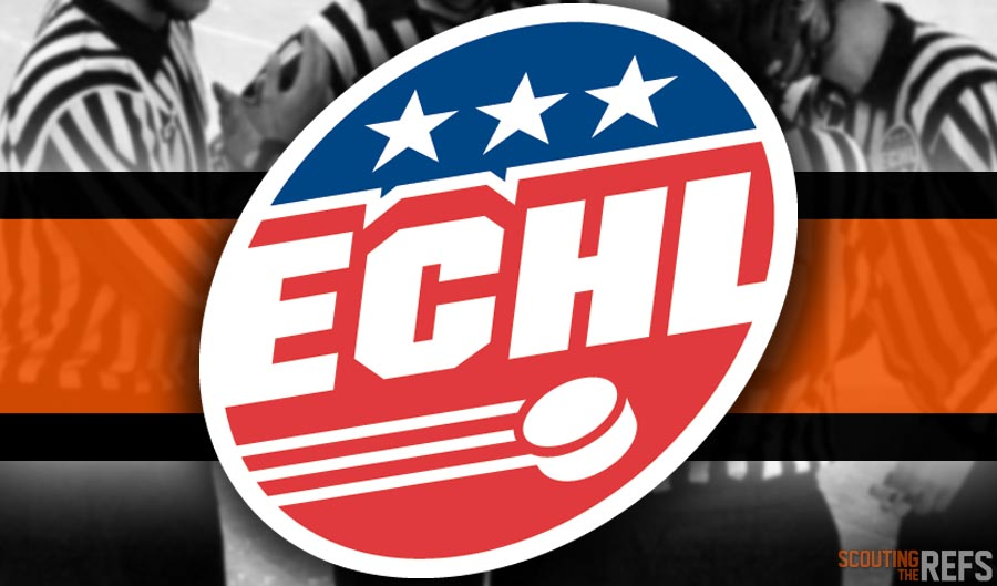 Tonight's ECHL Referees and Linesmen – 11/6/18