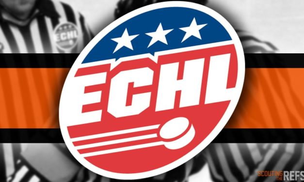 Tonight's ECHL Referees and Linesmen – 11/23/18
