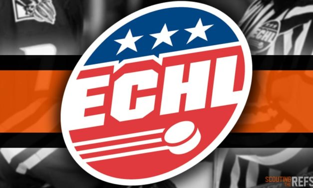 Tonight's ECHL Referees and Linesmen – 10/20/18