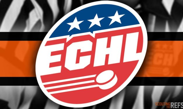Tonight's ECHL Referees and Linesmen – 11/5/18