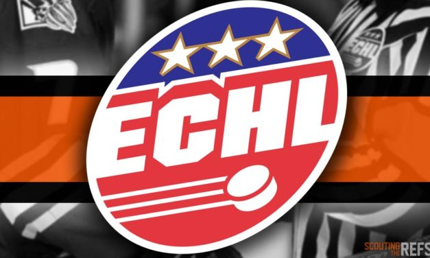 Tonight's ECHL Referees and Linesmen – 10/13/18