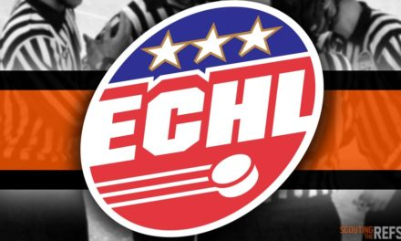 Tonight's ECHL Referees and Linesmen – 10/15/18