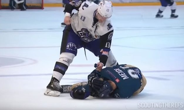 EIHL Suspends Four for Altercation During MK Lightning vs. Glasglow Clan