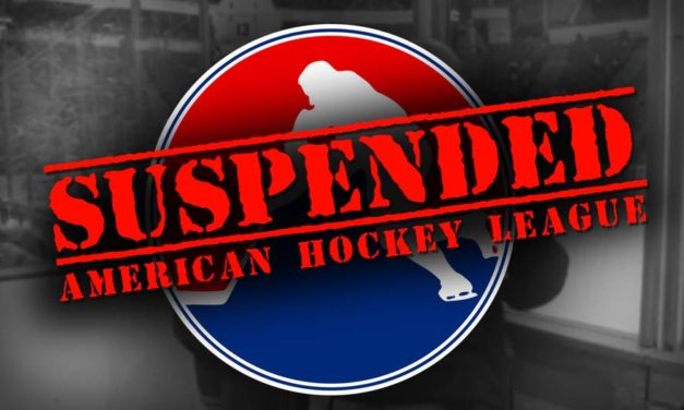 AHL Suspends San Jose's DeSimone Two Games for Illegal Check to the Head