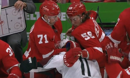 Wings' Bertuzzi to Face Posssible Suspension for Sucker-Punch from Bench