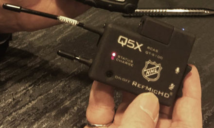 NHL Upgrades Refs' Mics