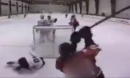 Texas High School Hockey Player Suspended Indefinitely for Brutal Stick Attack