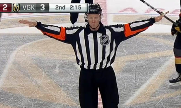 Review Call Interrupted by Goal Horn