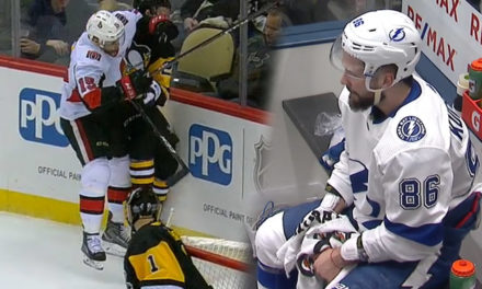Senators' Smith, Lightning's Kucherov Both Fined in Separate Incidents