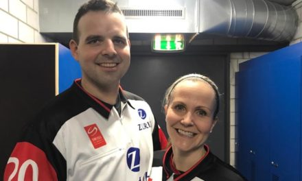 Referee Anna Wiegand Becomes First Woman to Officiate Swiss League Game; Debuts Alongside Her Husband