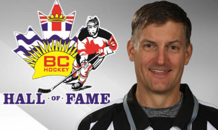 Linesman Shane Heyer to be Inducted into BC Hockey Hall of Fame