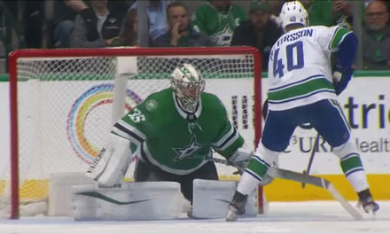 No Awarded Goal After Stars' Khudobin Throws Stick on Penalty Shot