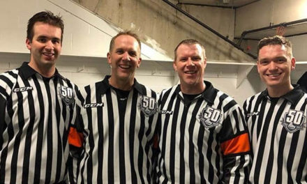 QMJHL Ref Thomander Hanging Up His Whistle After 25-Year Career
