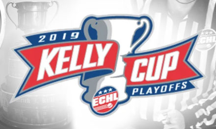 ECHL Referees and Linesmen for 2019 Kelly Cup Playoff Conference Finals