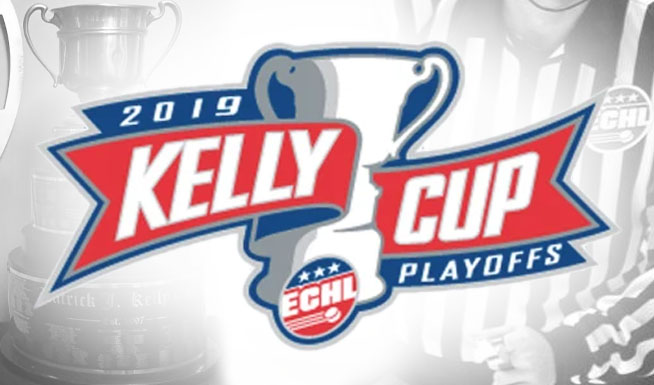 ECHL Referees and Linesmen for 2019 Kelly Cup Playoffs
