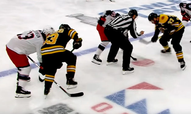 Bruins' Marchand's Sneaky Stick Stomp Avoids Call