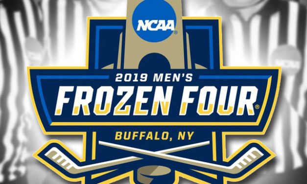 NCAA Referees and Linesmen for 2019 Frozen Four