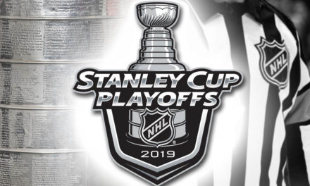Tonight's NHL Stanley Cup Playoff Referees and Linesmen – 5/5/19