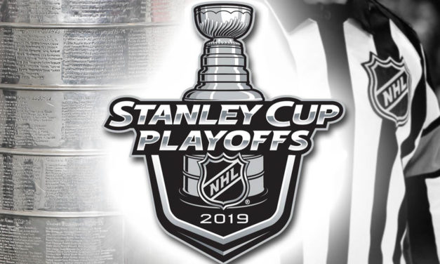 Tonight's NHL Stanley Cup Playoff Referees and Linesmen – 4/13/19