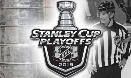 Tonight's NHL Stanley Cup Playoff Referees and Linesmen – 5/7/19