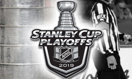 Tonight's NHL Stanley Cup Playoff Referees and Linesmen – 4/18/19