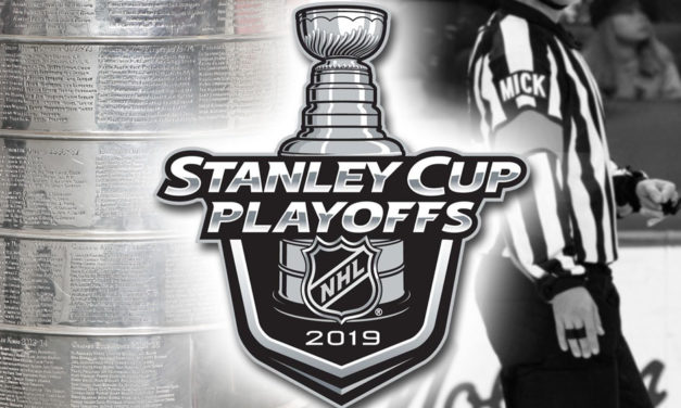 Tonight's NHL Stanley Cup Playoff Referees and Linesmen – 5/8/19