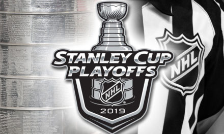 Tonight's NHL Stanley Cup Playoff Referees and Linesmen – 4/26/19
