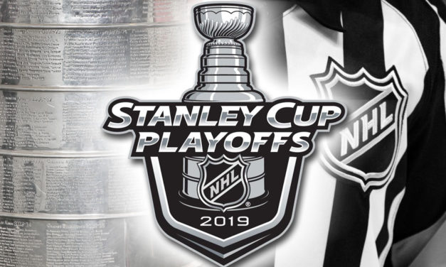 Tonight's NHL Stanley Cup Playoff Referees and Linesmen – 4/17/19