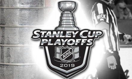 Tonight's NHL Stanley Cup Playoff Referees and Linesmen – 4/19/19