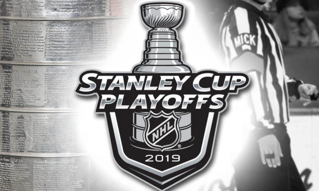 Tonight's NHL Stanley Cup Playoff Referees and Linesmen – 4/28/19